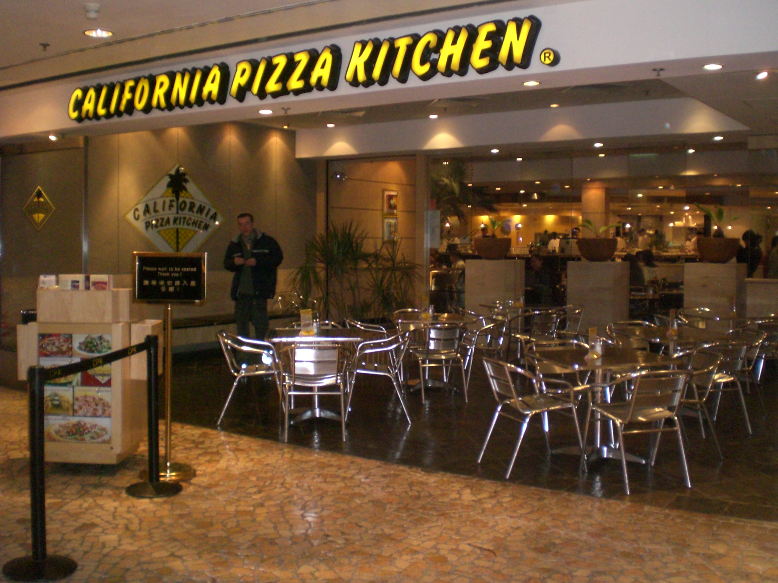 Lawsuit Against California Pizza Kitchen